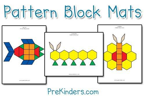 Free Pattern Block Printable Worksheets