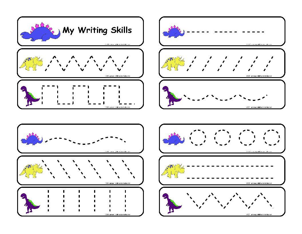 Free Prewriting Worksheets For Preschool 431256