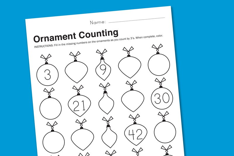 Free Printable Holiday Worksheets Kindergarten 414380
