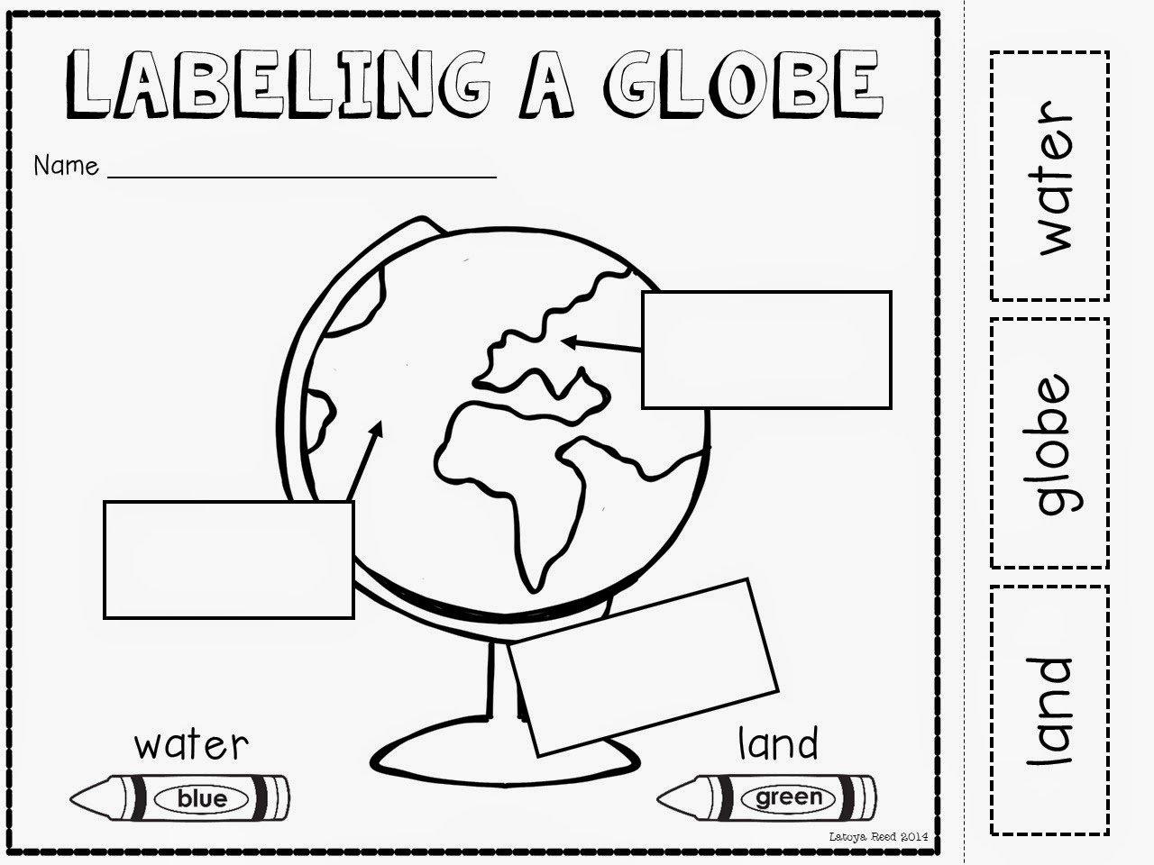 Free Printable Map Worksheets For Kindergarten 891213