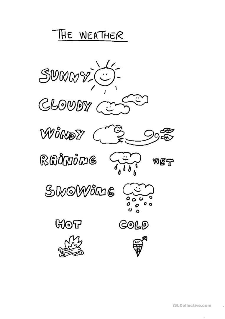 Free Printable Preschool Weather Worksheets 162440