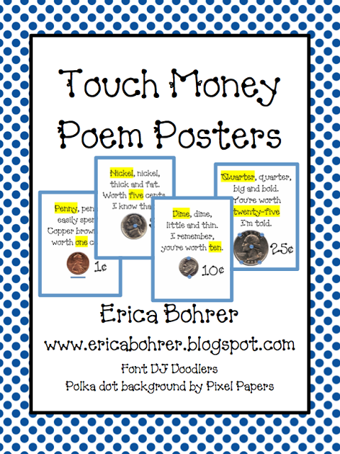 Free Touch Money Posters