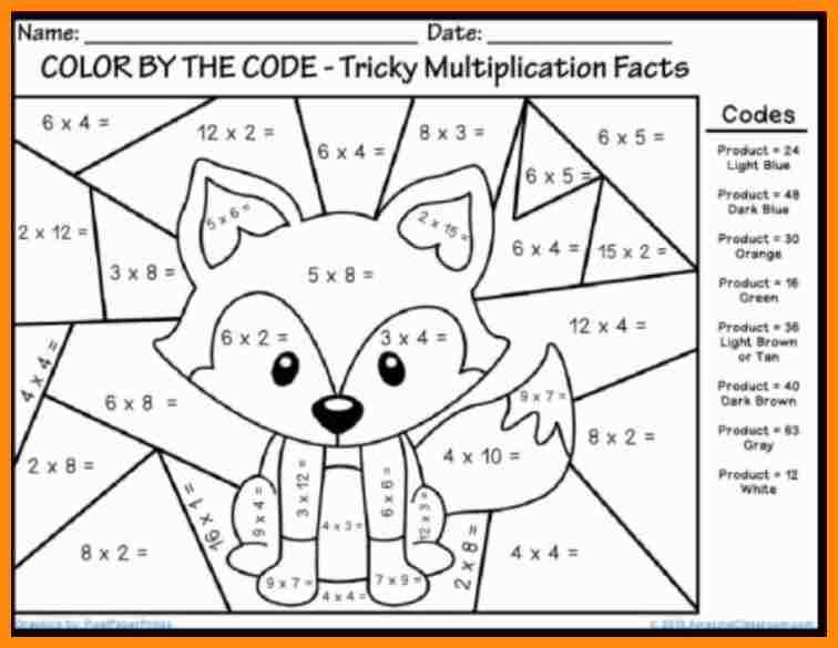 Fun Worksheets 6 Multiplication Fun Worksheets Math Cover Ideas