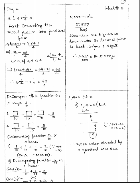 Grade 5 Math English Worksheets 321067