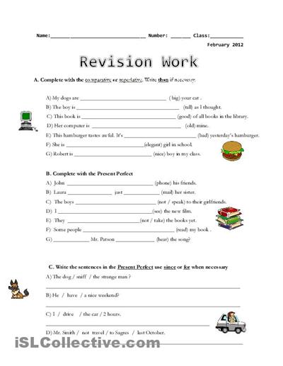 Grammar Worksheets For Middle School The Best Worksheets Image