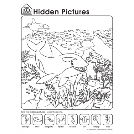 Hidden Picture Worksheets The Best Worksheets Image Collection