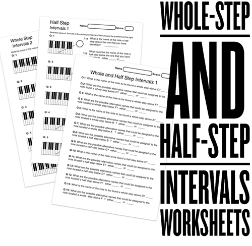 High School Music Worksheets