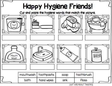 Hygiene Worksheets