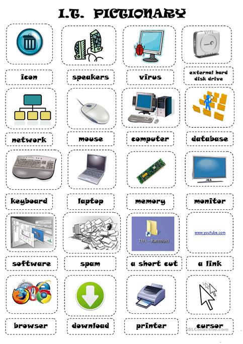 I T  Information Technology Worksheet