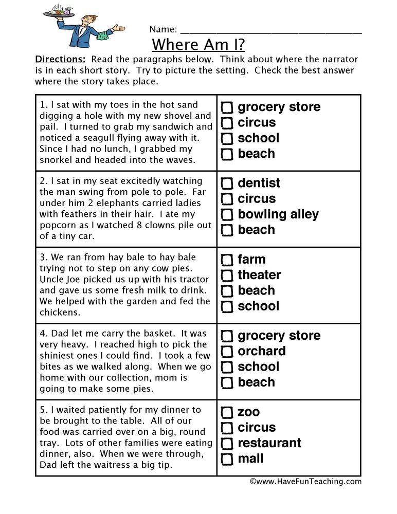 Inference Worksheet Year 3 1034069