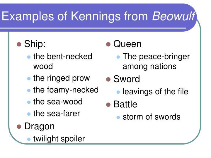 Kennings Examples Gallery
