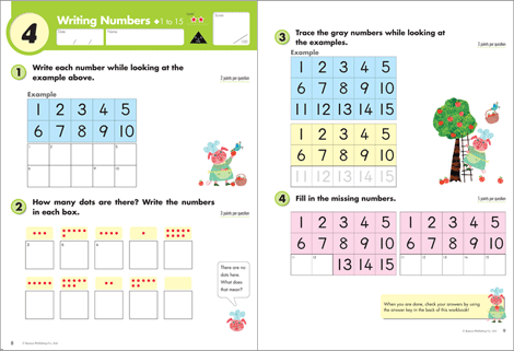 Kumon Math Workbooks Grade 1