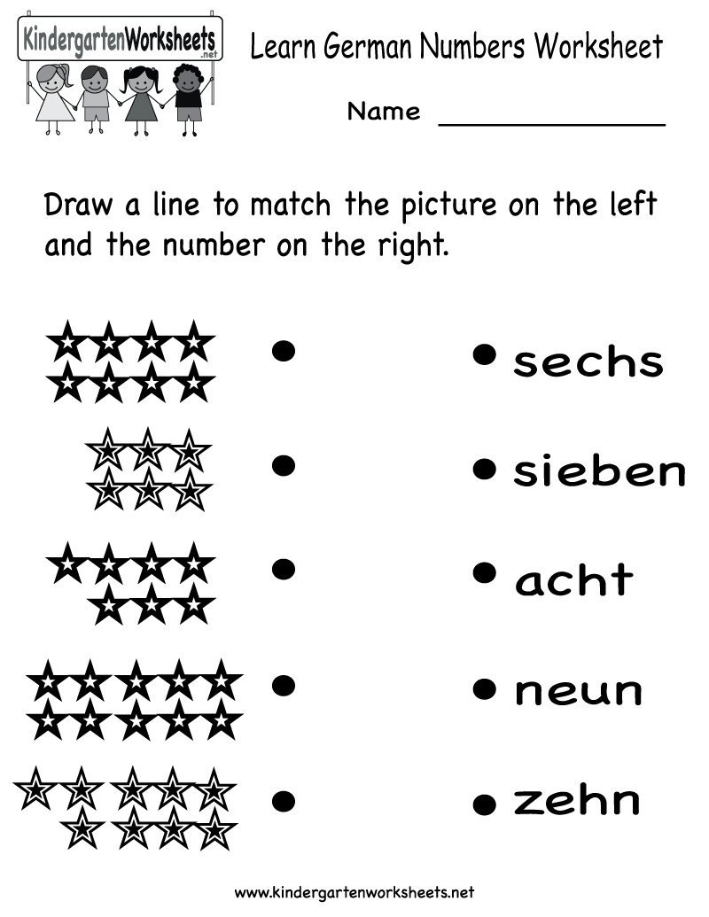 Learn Numbers Worksheets The Best Worksheets Image Collection