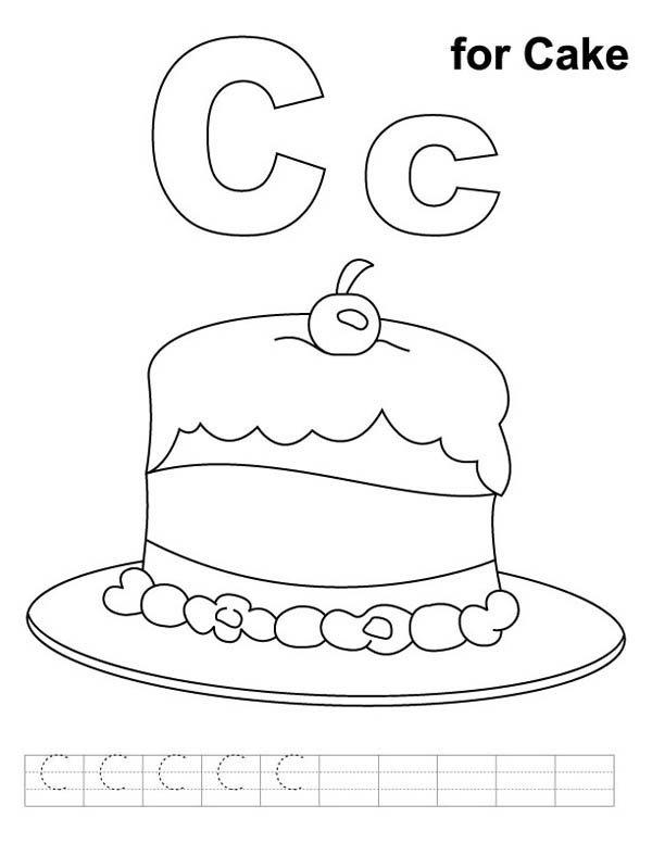 Letter C Coloring Page Free Letter C Coloring Pages Murderthestout