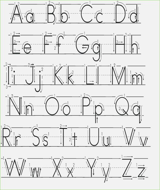 Letter Formation Worksheets With Arrows – Thepizzashop Co