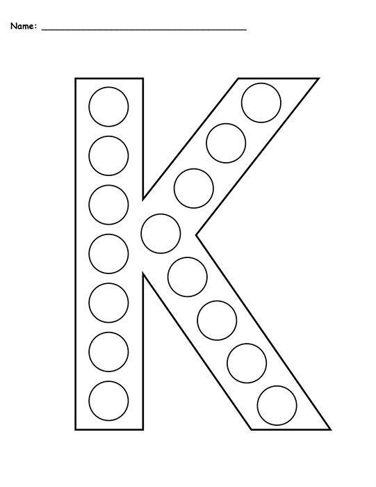 Letter K Worksheets Free Preschool Letter K Worksheets Printables