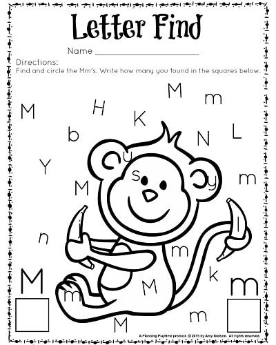 Letter M Worksheets For Kindergarten The Best Worksheets Image