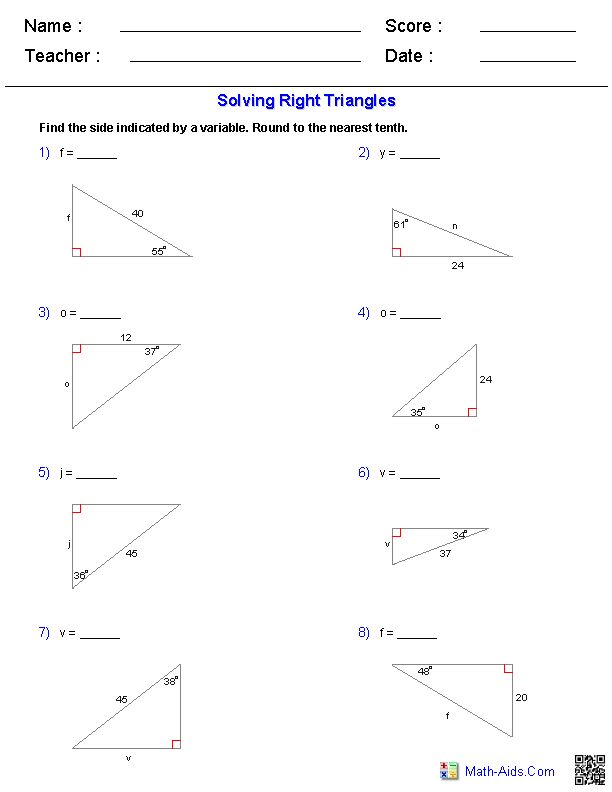 Lovely Special Right Triangles Worksheet Beautiful Special Right
