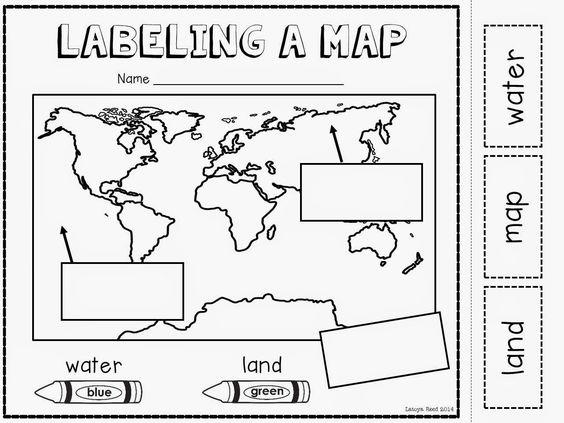 Mapping Worksheets For Kindergarten The Best Worksheets Image