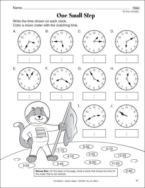 Math Time Worksheets Second Grade 216413