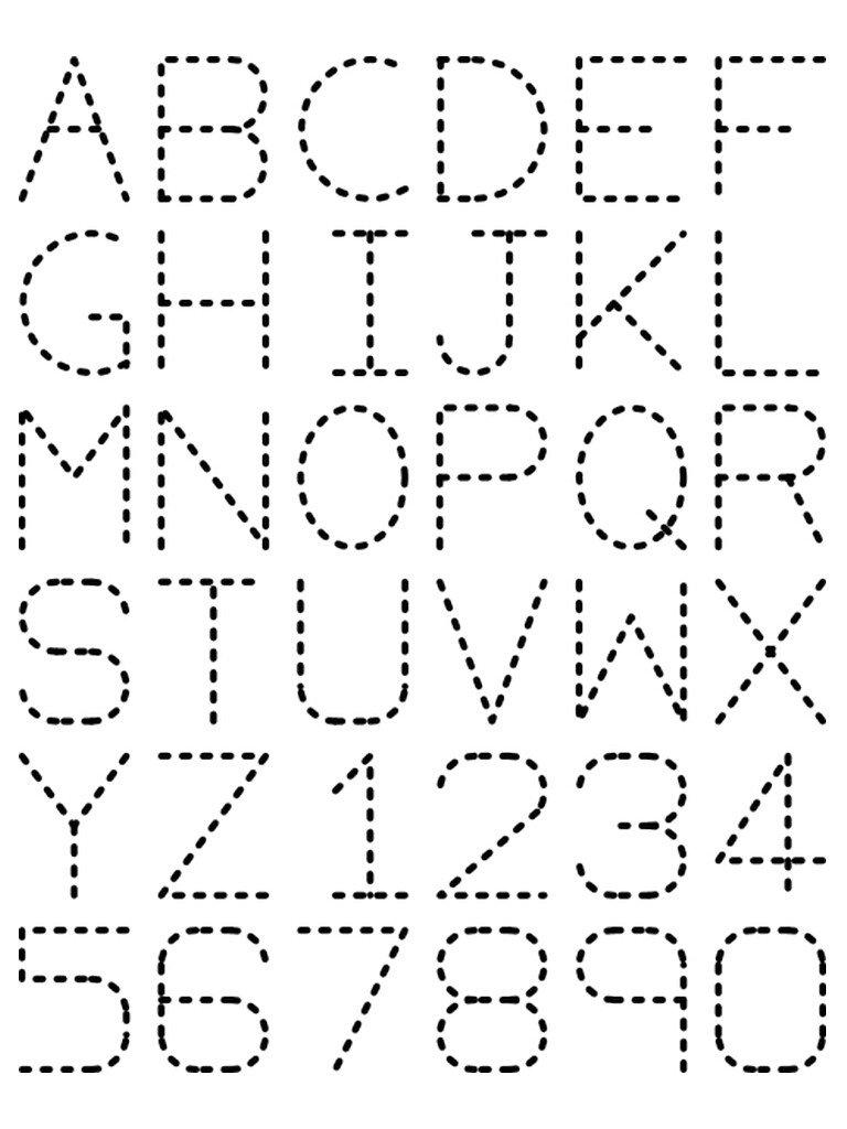 Math Worksheets Free Pre Kindergarten Alphabet Letter