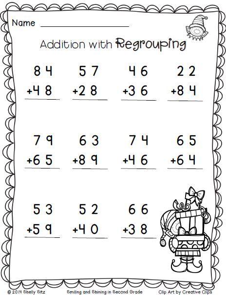 Math Worksheets Second Grade 509497