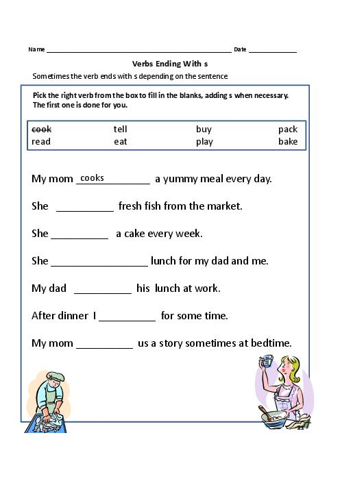 Mesmerizing Verbs Worksheets For Year 1 Also Verbs Action Words