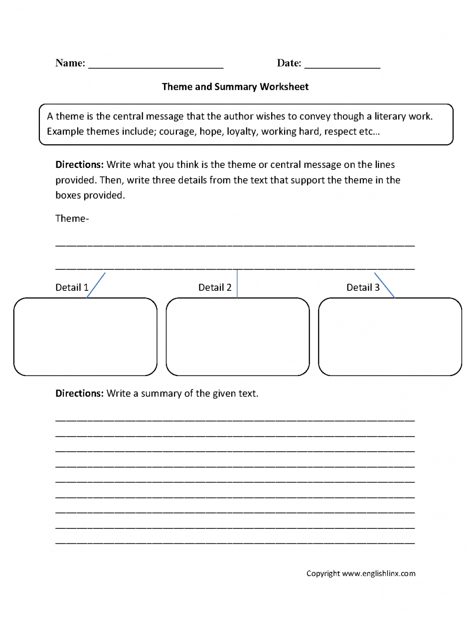 Multiplication Worksheets Math Reading Worksheet 3rd Grade Theme