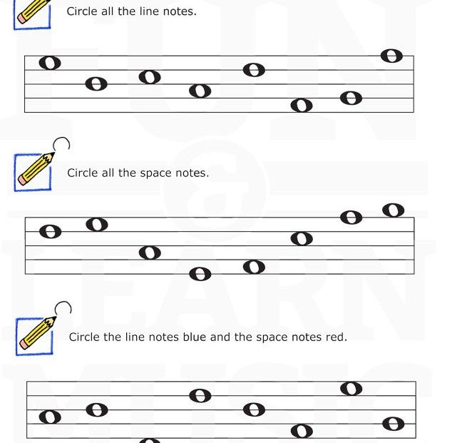 Music Staff Worksheets The Best Worksheets Image Collection