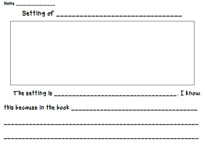 Novel Setting Worksheet The Best Worksheets Image Collection