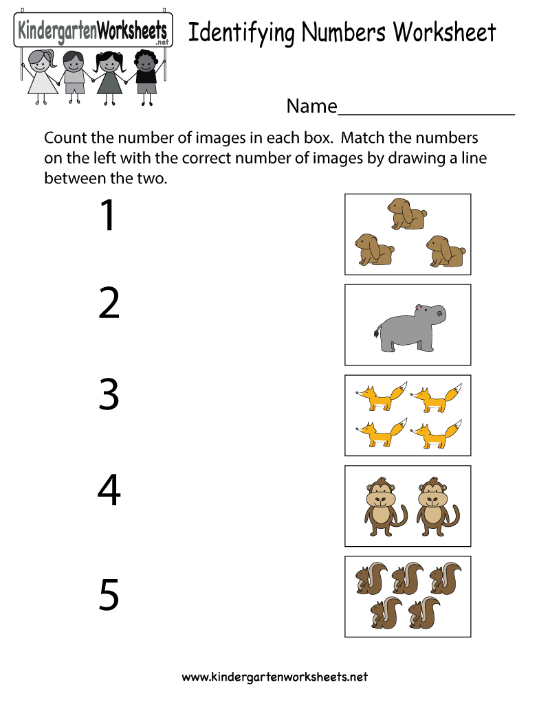 Number Practice Worksheets For Kindergarten The Best Worksheets