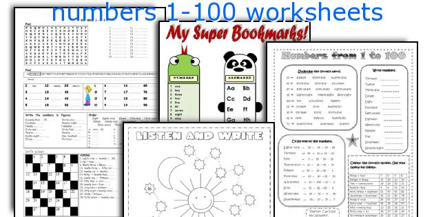 Numbers 1 100 Worksheet The Best Worksheets Image Collection