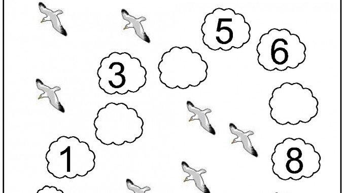 Numbers Worksheet Drawing At Getdrawings Com