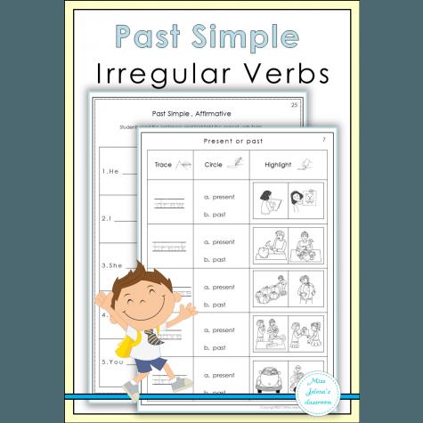 Past Simple Irregular Verbs Worksheets