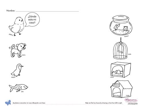 Pets Worksheets For Preschool 282170