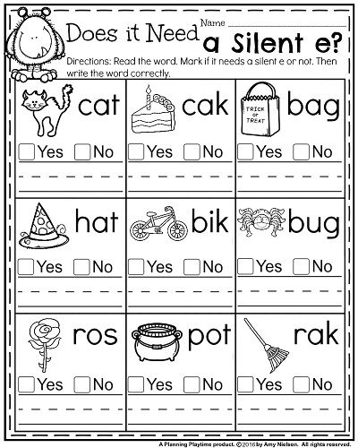 Phonics Worksheet For First Grade The Best Worksheets Image