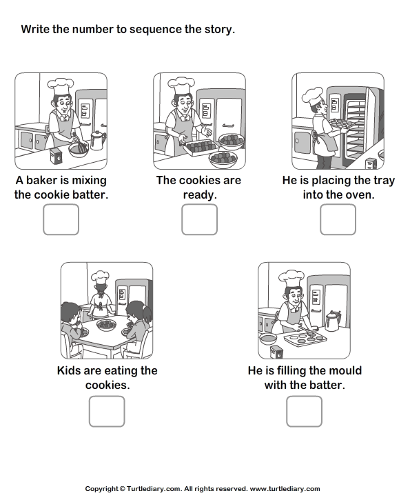Picture Story Sequencing Worksheets Kindergarten 118444