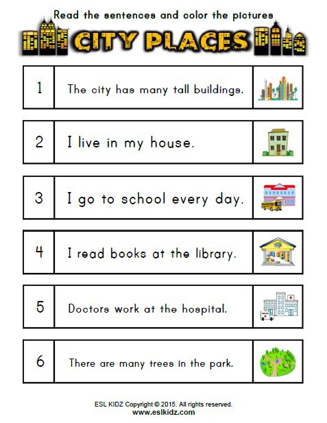 Places At School Worksheet The Best Worksheets Image Collection