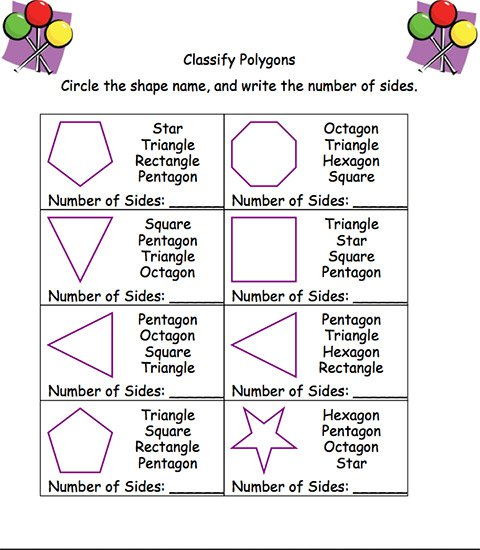 Polygon Worksheet Pdf The Best Worksheets Image Collection