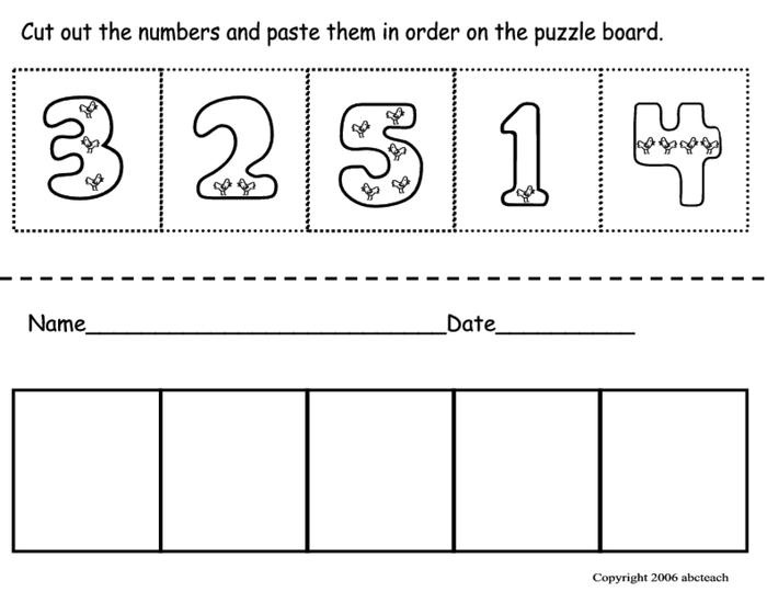 Pre K Cut And Paste Worksheets The Best Worksheets Image