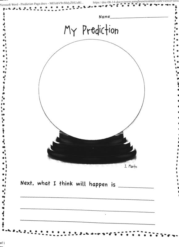 Prediction Worksheets For Kindergarten The Best Worksheets Image