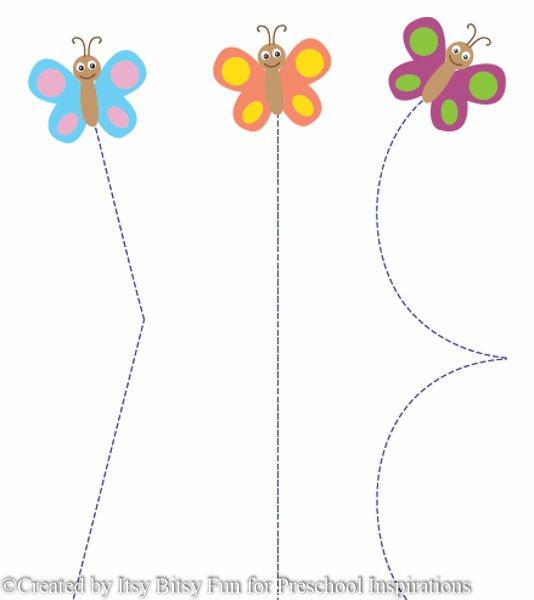 Preschool Butterfly Worksheet 176189
