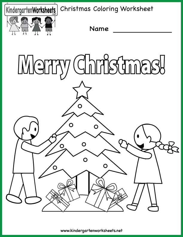 Preschool Christmas Worksheets Printables 762461