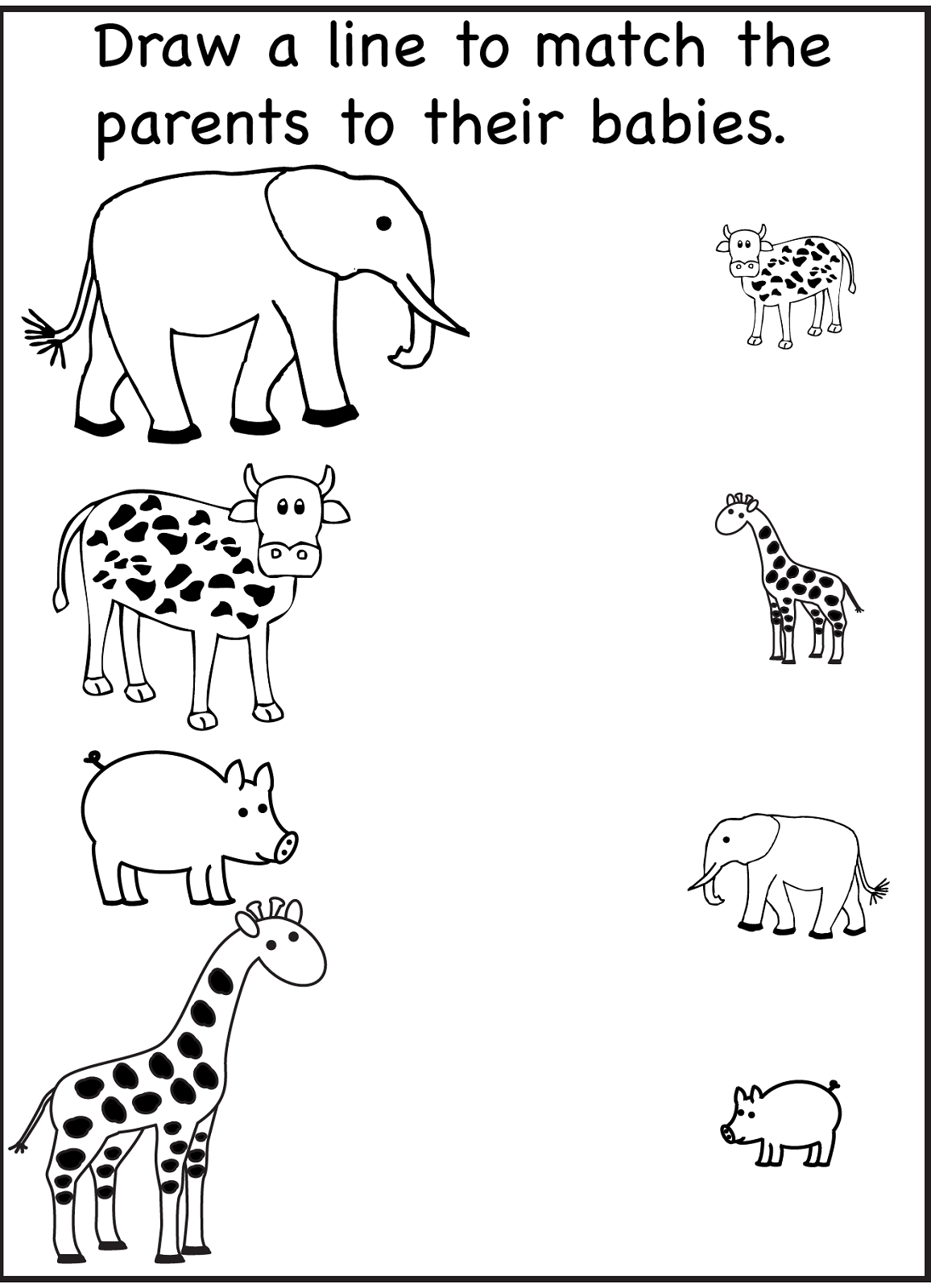 Preschool Worksheets 2 Year Olds 834491