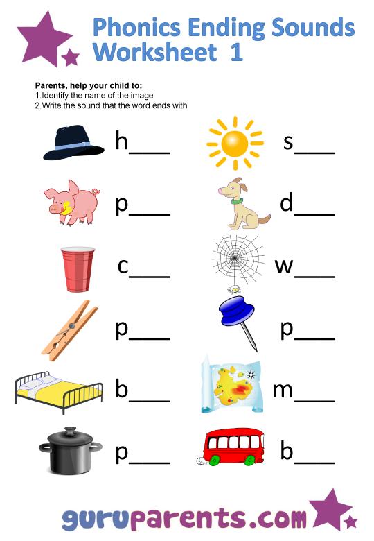 Preschool Worksheets Phonics 346683