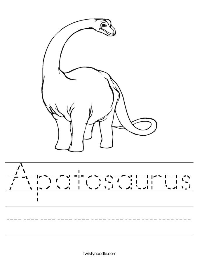 Printable Dinosaur Worksheet Kindergarten The Best Worksheets