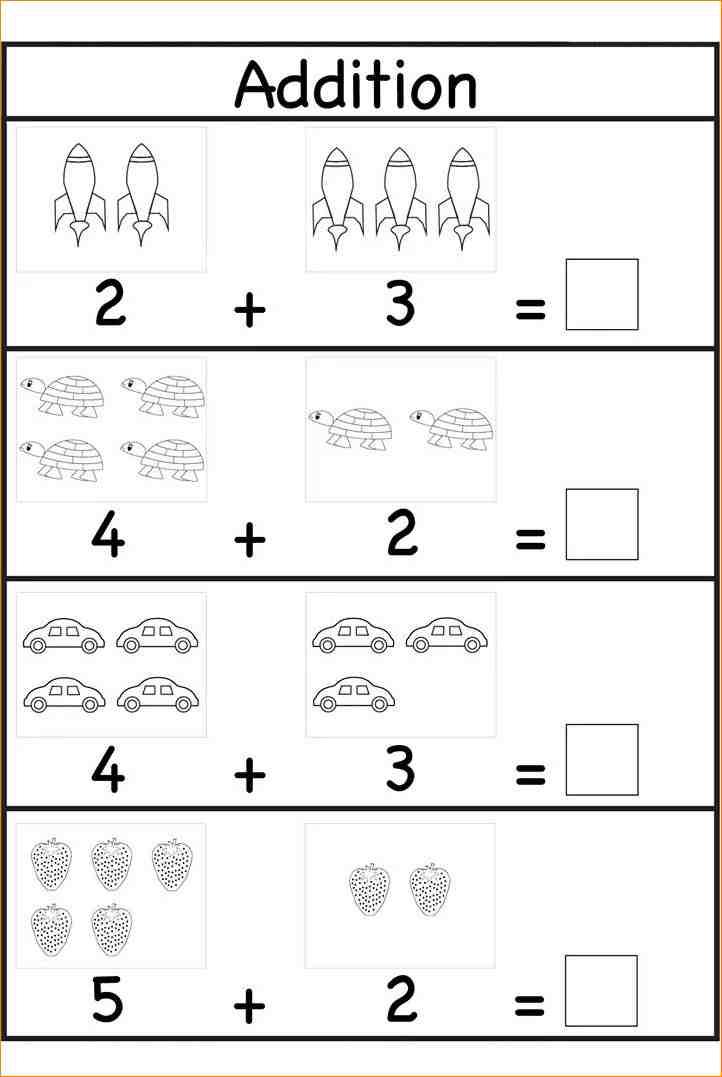 Printable Math Worksheet For Preschool The Best Worksheets Image