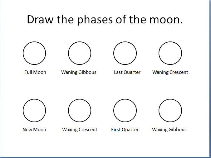 Printables  Phases Of The Moon Worksheet  Surveillanceandeveryday