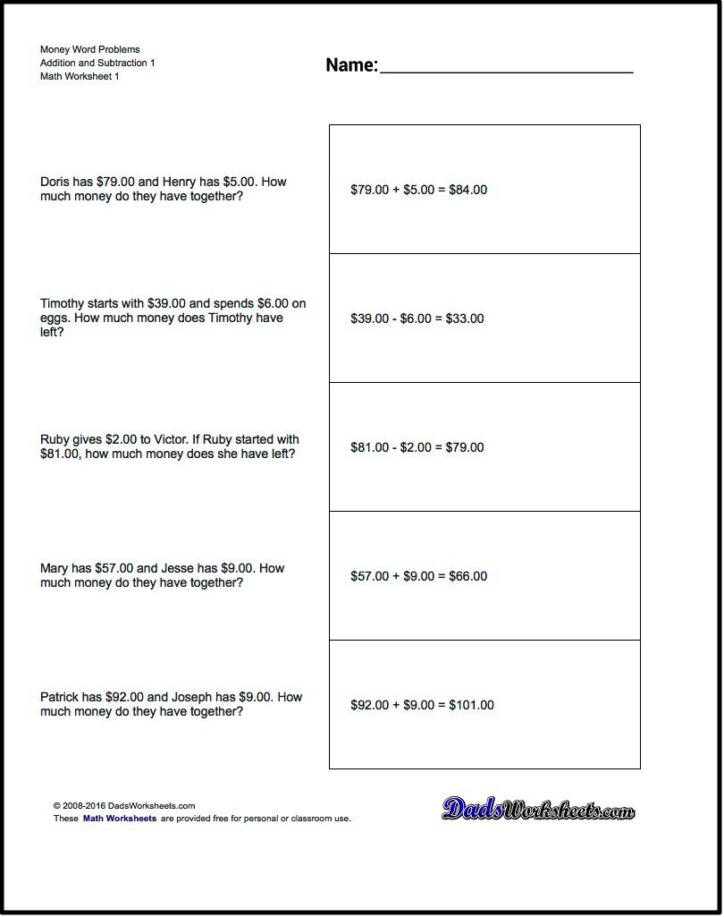 Problem Solving Practice Worksheets 858313