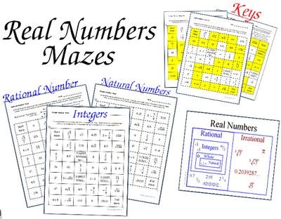 Rational Number Maze
